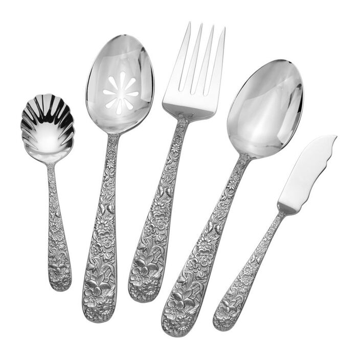 """Towle """"Contessina"""" 5-pc. 18/10 Stainless Steel Hostess Set"""