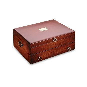 "Reed & Barton ""Bristol"" Cherry Flatware Chest , , default"