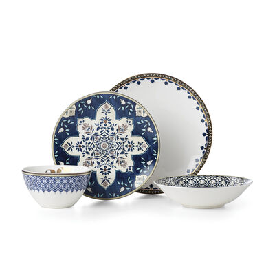 """Lenox """"Global Tapestry"""" Sapphire 4-pc. Place Setting, , default"""