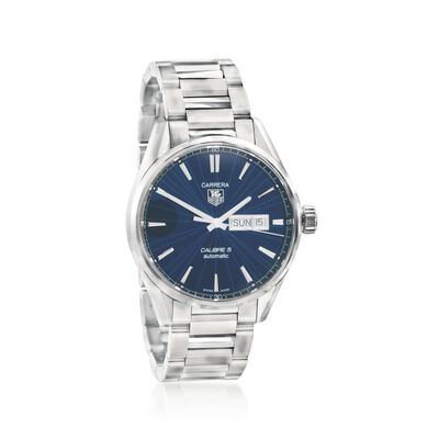 TAG Heuer Carrera Men's 41mm Stainless Steel Watch