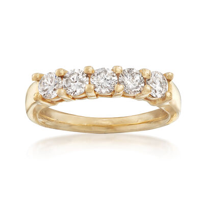 C. 2010 1.00 ct. t.w. Diamond Ring in 14kt Yellow Gold, , default