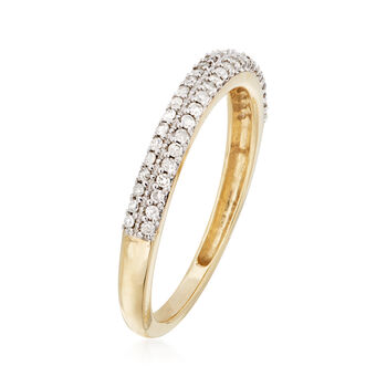 .25 ct. t.w. Diamond Ring in 14kt Yellow Gold, , default