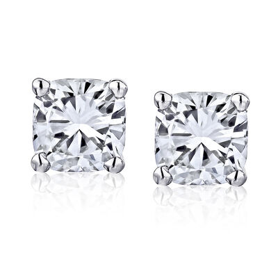 1.90 ct. t.w. Certified Diamond Stud Earrings in Platinum, , default