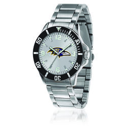 Men's 46mm NFL Baltimore Ravens Stainless Steel Key Watch, , default