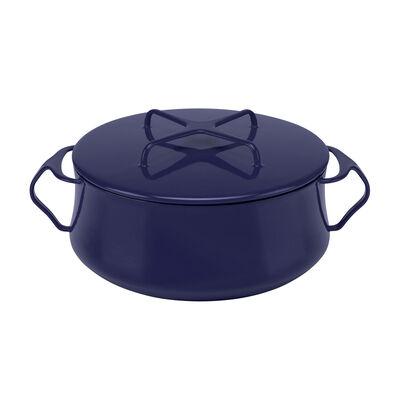 "Dansk ""Kobenstyle"" Midnight Blue Casserole Pot with Lid, , default"