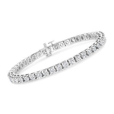 7.00 ct. t.w. Diamond Tennis Bracelet in 14kt White Gold