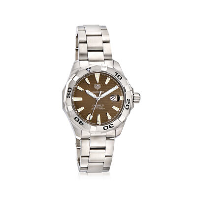 TAG Heuer Aquaracer Men's 43mm Swiss Automatic Stainless Steel Watch, , default