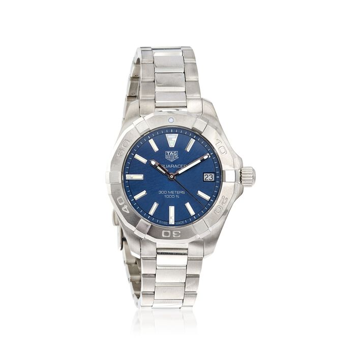 TAG Heuer Aquaracer Women's 32mm Stainless Steel Watch with Blue Dial , , default