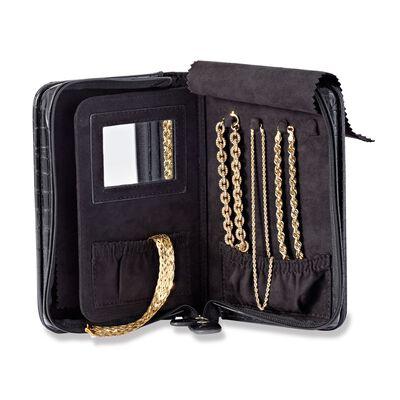 Black Perfect Travel Jewelry Case, , default