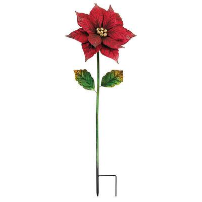 Regal Giant Poinsettia Garden Stake, , default