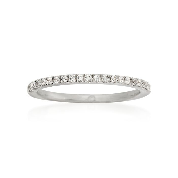 Gabriel Designs .15 ct. t.w. Diamond Wedding Ring in Platinum, , default