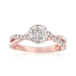 .49 ct. t.w. Diamond Engagement Ring in 14kt Rose Gold, , default