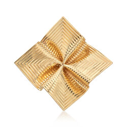 C. 1970 Vintage Tiffany Jewelry Pin in 14kt Yellow Gold, , default