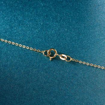 "Italian 18kt Yellow Gold Cross Pendant Necklace. 18"", , default"