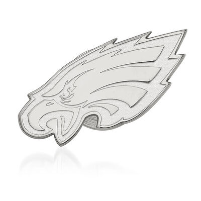 Sterling Silver NFL Philadelphia Eagles Lapel Pin, , default