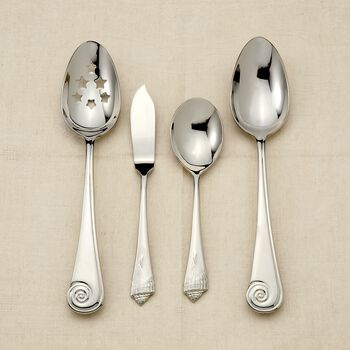 "Reed & Barton ""Sea Shells"" 18/10 Stainless Steel Flatware , , default"