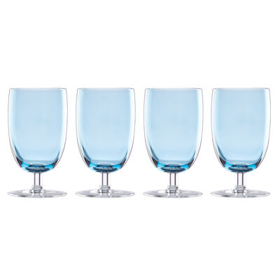 "Lenox ""Valencia"" Set of 4 Blue All-Purpose Glasses, , default"