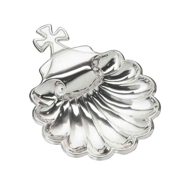 """Cunill Italian Sterling Silver """"Valencia"""" Baptismal Shell, , default"""