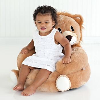 Children's Lion Plush Character Chair