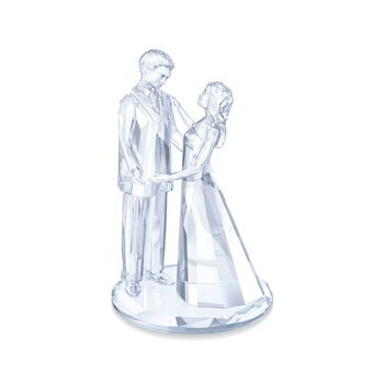 "Swarovski Crystal ""Love Couple"" Figurine, , default"