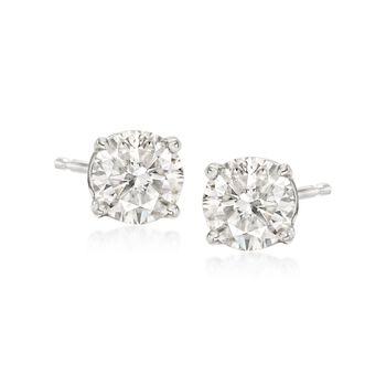1.00 ct. t.w. Diamond Stud Earrings in Platinum, , default