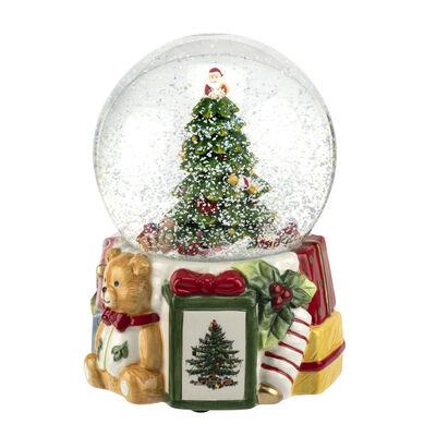 "Spode ""Christmas Tree"" 250th Anniversary Musical Snow Globe"