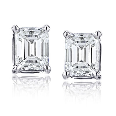 .70 ct. t.w. Certified Diamond Stud Earrings in Platinum