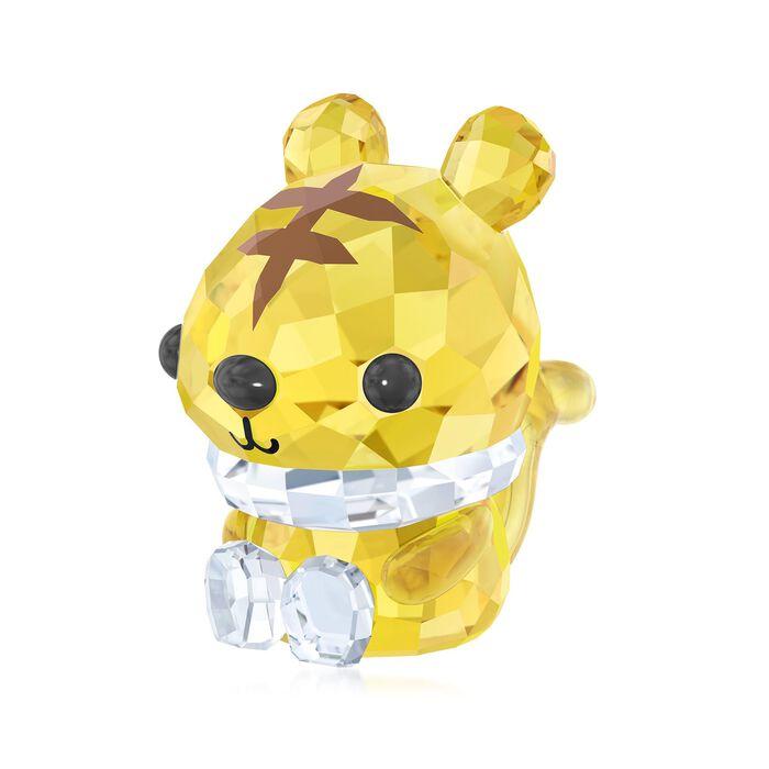 "Swarovski Crystal ""Vigorous Tiger - Chinese Zodiac"" Crystal Figurine , , default"