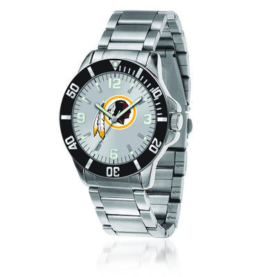 Men's 46mm NFL Washington Redskins Stainless Steel Key Watch