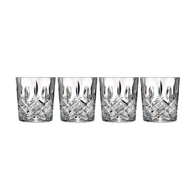"Waterford Crystal ""Markham"" Set of Four Marquis Double Old Fashioned Glasses, , default"