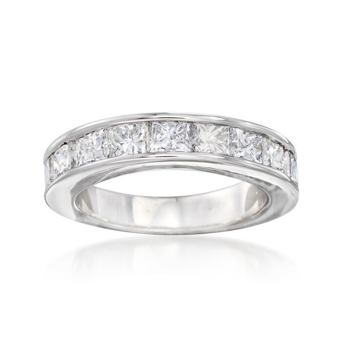 2.00 ct. t.w. Channel-Set Diamond Ring in 14kt White Gold