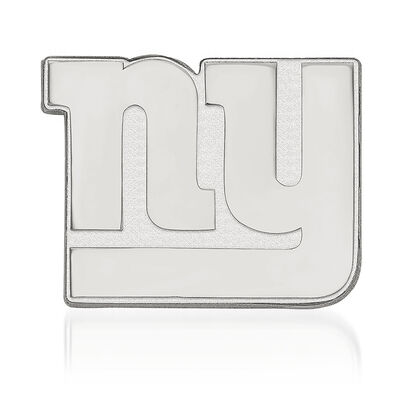 Sterling Silver NFL New York Giants Lapel Pin