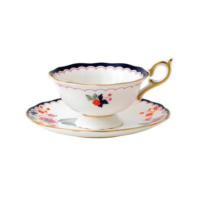 """Wedgwood """"Wonderlust"""" Jasmine Bloom 2-pc. Teacup and Saucer Set, , default"""