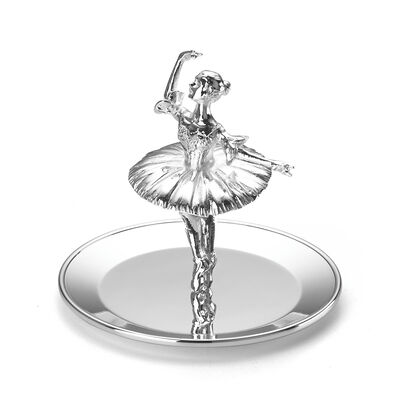 Reed & Barton Ballerina Ring Holder, , default