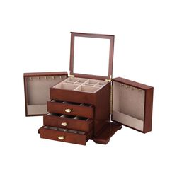 Reed & Barton Amelia Jewelry Chest, , default