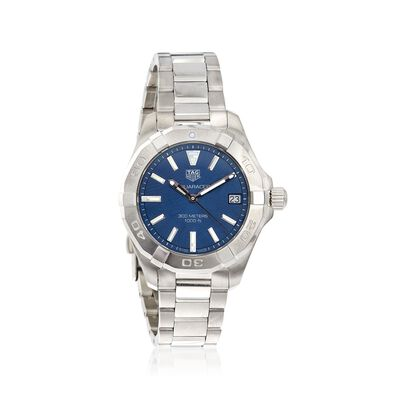 TAG Heuer Aquaracer Women's 32mm Stainless Steel Watch With Blue Dial, , default