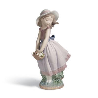 "Lladro ""Pretty Innocence"" Porcelain Figurine, , default"