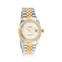 Certified Pre-Owned Rolex Datejust Women's Automatic Watch in Two-Tone , , default