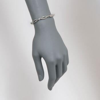 "Zina Sterling Silver ""Pod"" Bracelet. 7"", , default"