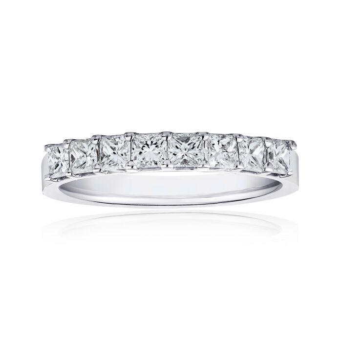 1.60 ct. t.w. Princess-Cut Diamonds in 14kt White Gold, , default