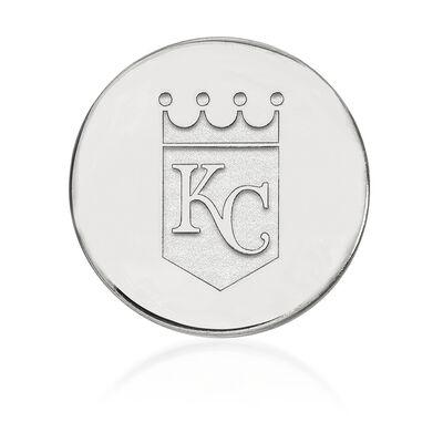 Sterling Silver MLB Kansas City Royals Lapel Pin