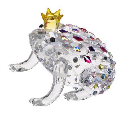 "Judith Ripka ""Gemstone"" Crystal Frog Prince Figurine"