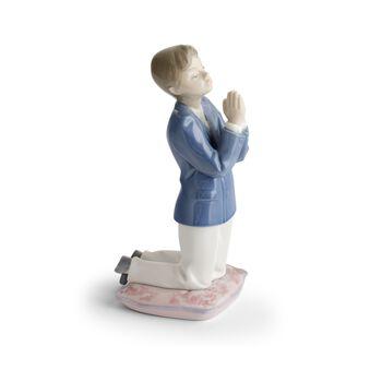 "Lladro ""Communion Prayer - Boy"" Porcelain Figurine, , default"