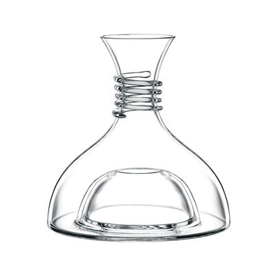 Red and White Wine Glass Decanter