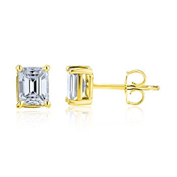 .48 ct. t.w. Diamond Stud Earrings in 14kt Yellow Gold, , default