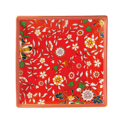 "Wedgwood ""Wonderlust"" Crimson Jewel Tray, , default"