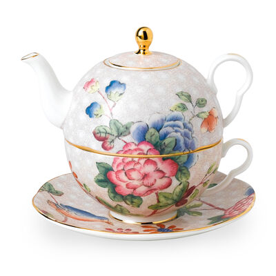 "Wedgwood ""Cuckoo"" Tea for One Teapot Set, , default"