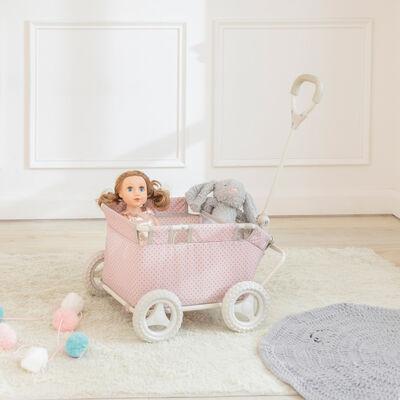 """Child's """"Polka Dots Princess"""" Doll Wagon"""