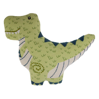 Child's Dinosaur Embroidered Pillow by Stephen Joseph
