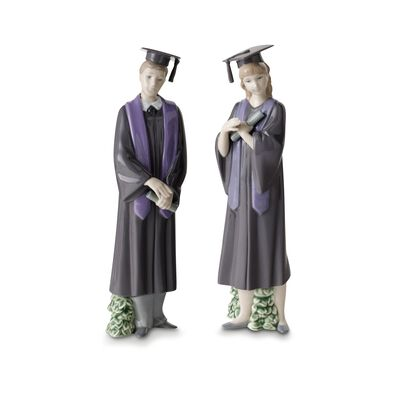 "Nao ""Graduate Celebration"" Porcelain Figurine, , default"